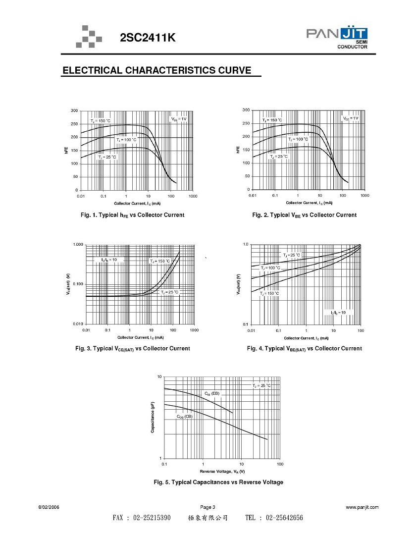 Bipolar Junction Transistor PDF http://www.taa.com.tw/products/index.php?mode=print&id=157